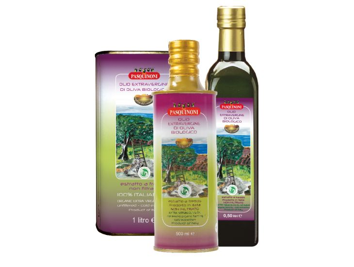 Olio extra vergine di oliva Biologico