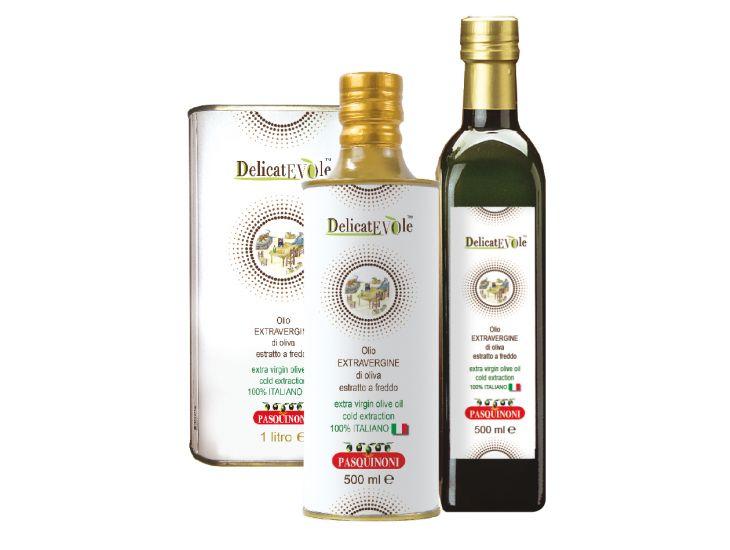 Delicatevole olio extra vergine di oliva