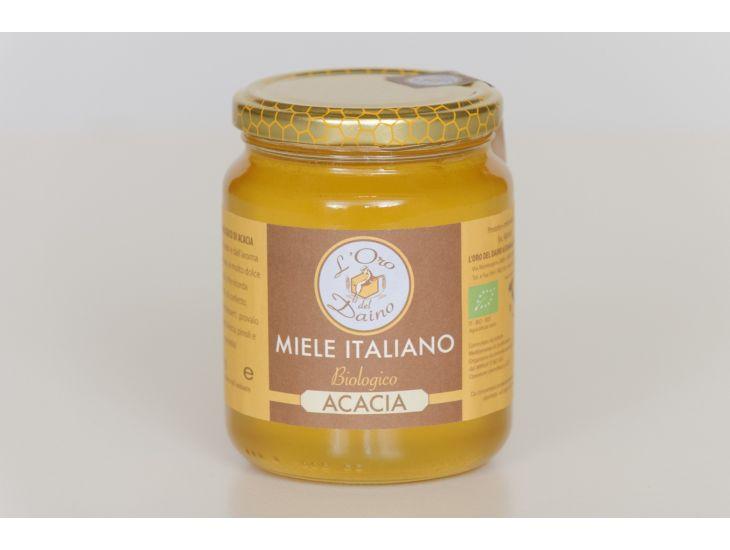 Miele d'Acacia Biolgico di Mondaino, Azienda Agricola Biologica L'Oro del Daino