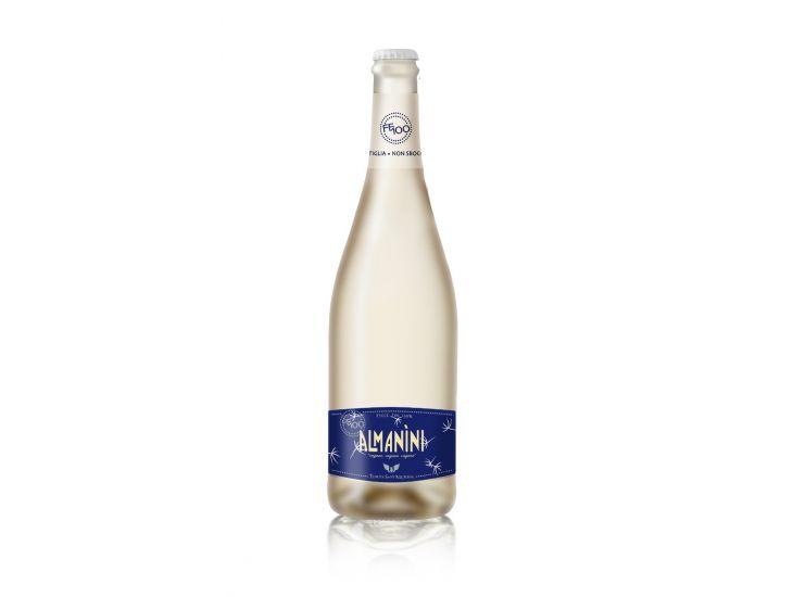 Almanini FF100 Vino Bianco Frizzante Biologico Metodo Ancestrale