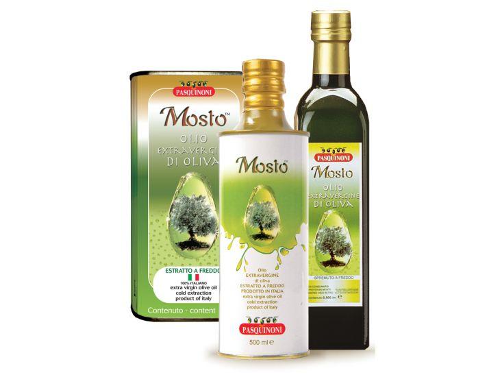 Olio extra vergine di oliva Mosto