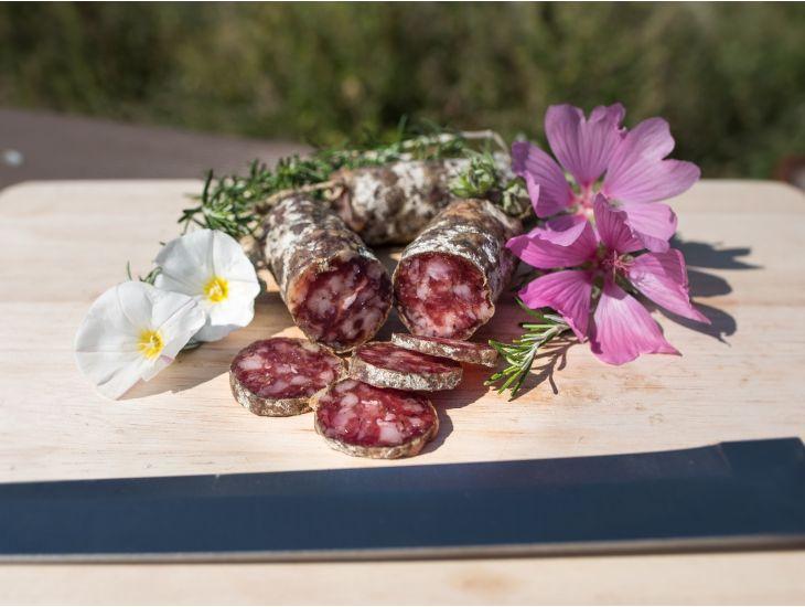 Salsiccia Stagionata Tradizionale di Rimini , Azienda Agricola Tiraferri |