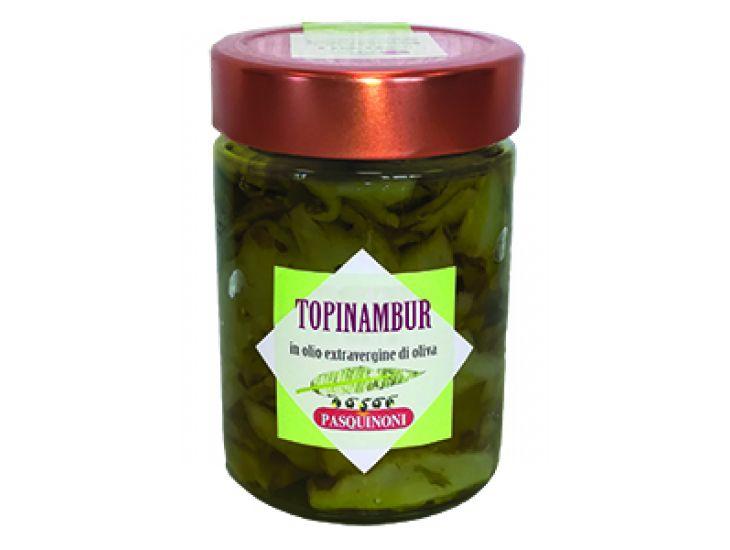 Topinambur in extravergine
