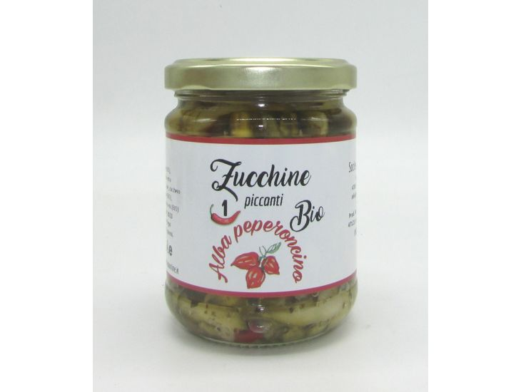 Zucchine al peperoncino bio